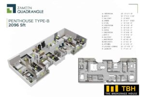 3 Bed Penthouse Quadrangle (1)