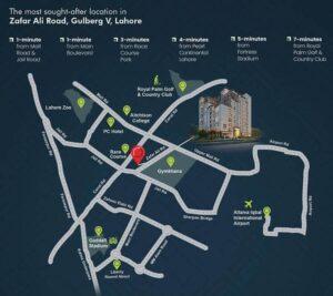 zameen Quadrangle Map