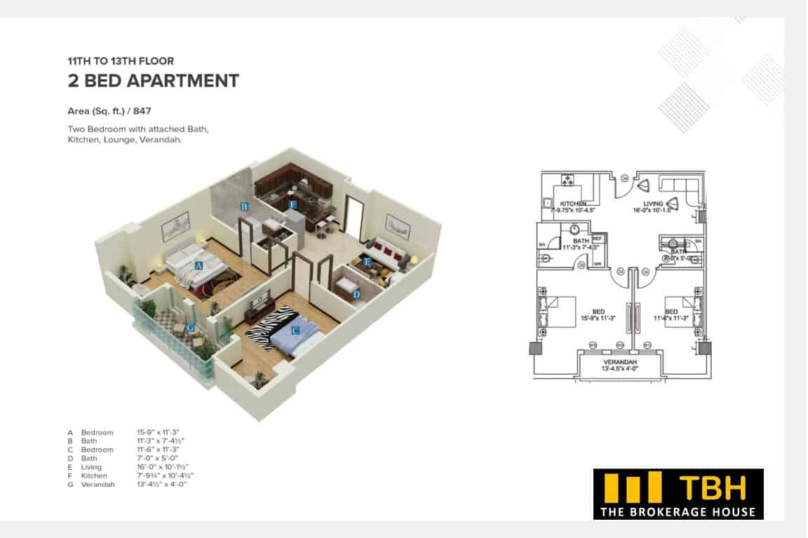 Residential Apartments Square Mall (2)