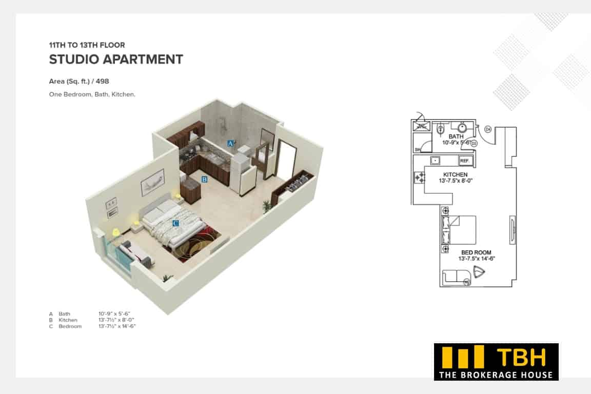 Residential Apartments Square Mall (7)